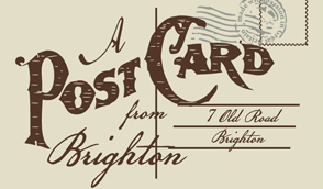 postcard from brighton