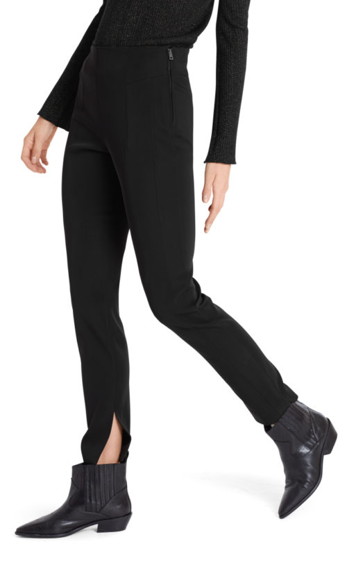 MARC CAIN Brown Techno Trousers