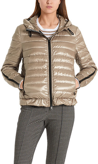 MARC CAIN Metallic Copper Sporty Jacket