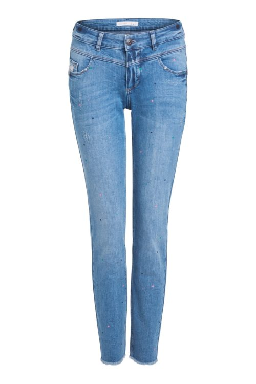 OUI Distressed Jeans With Hearts