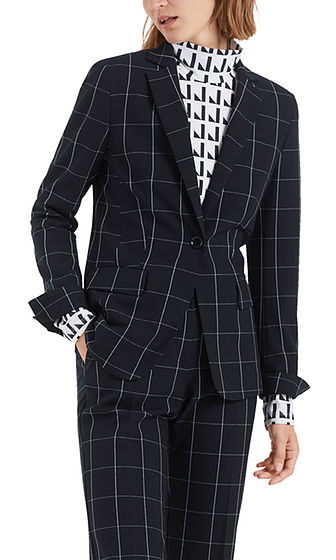 MARC CAIN Sporty Check Jacket