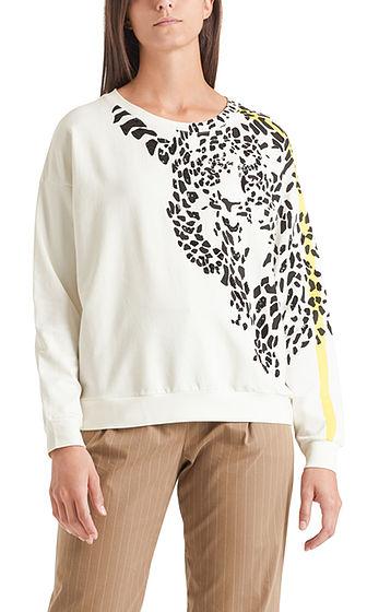 MARC CAIN Leopard Print Sweatshirt