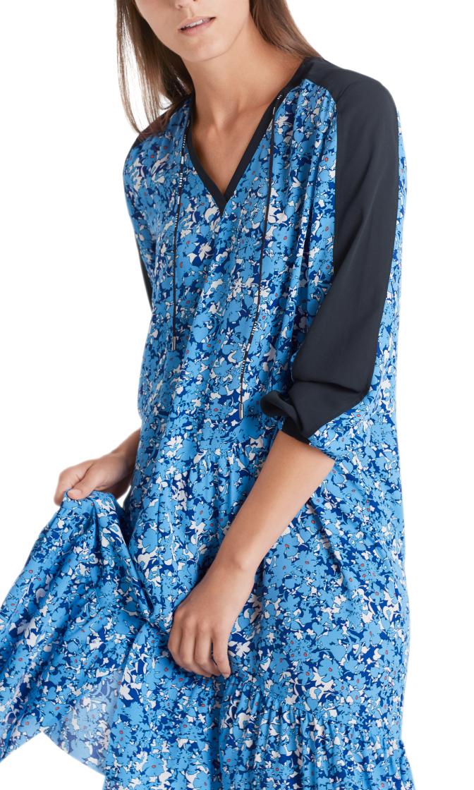 MARC CAIN Sporty Floral Print Dress