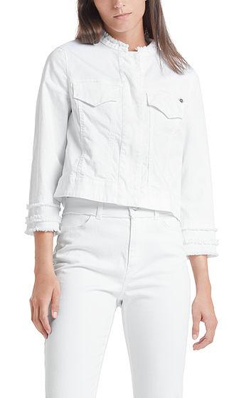 MARC CAIN White Denim Jacket