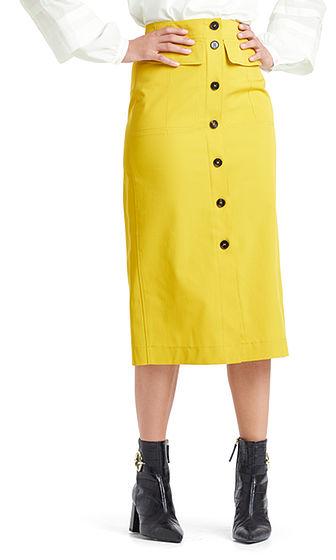 MARC CAIN Stretch Pencil Skirt