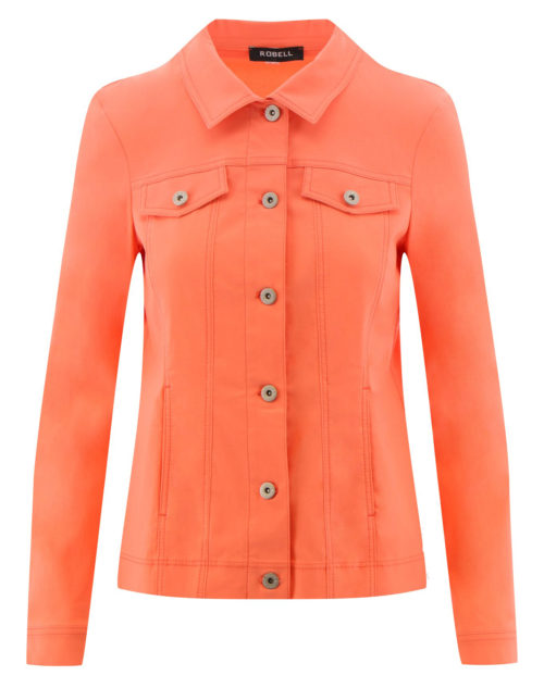 ROBELL Orange Stretch Jacket