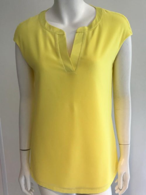 ROBELL Bright Yellow Silky Top