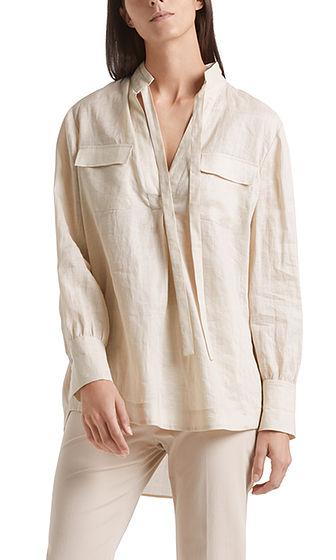 MARC CAIN Linen Look Sand Tunic