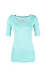 MARC CAIN Pale Turquoise T-Shirt