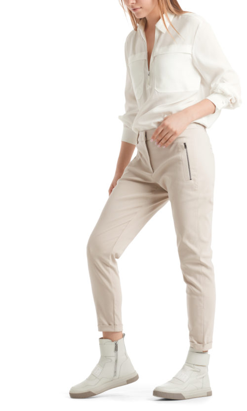 MARC CAIN Stretch Cotton Trousers