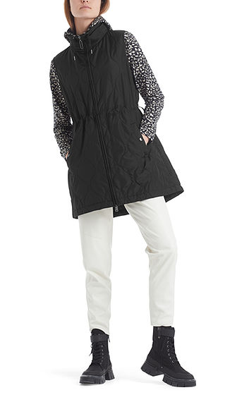 MARC CAIN Black Quilted Gilet