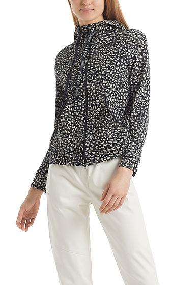 MARC CAIN Icon Leopard Print Jacket