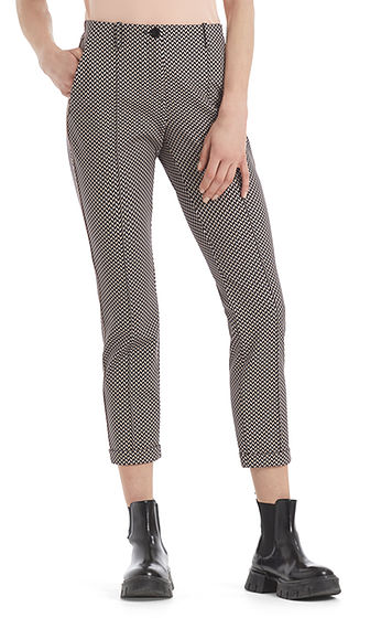 MARC CAIN Graphic Print Jersey Trousers