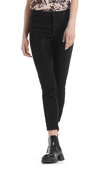 MARC CAIN Black Sparkle Jeans