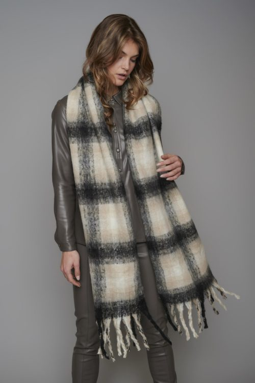 Rino & Pelle Soft Checked Scarf