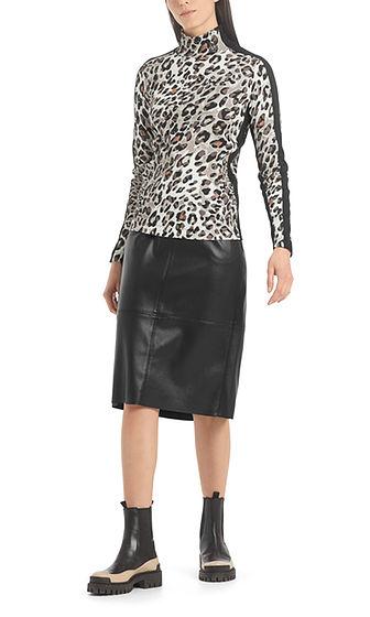 MARC CAIN Leopard Print Top