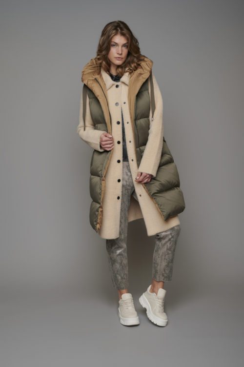 RINO & PELLE Reversible Quilted Gilet