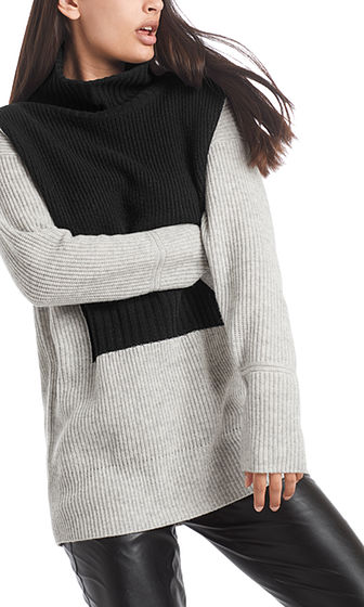 MARC CAIN Long Sweater With Cashmere